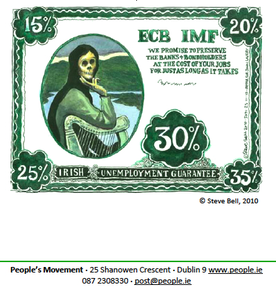 ECB/IMF Irish Unemployment Guarantee