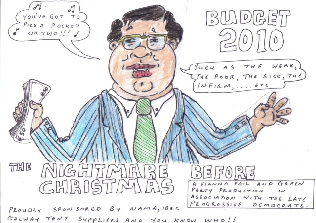 Budget 2010: the nightmare before Christmas
