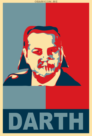 darth varadkar - as obama poster