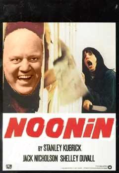Noonan in The Shining: Noonin