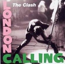 "Iconic cover from ""London Calling"" album by The Clash, 1979"