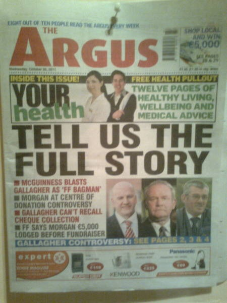 Dundalk Argus: Tell us the full story